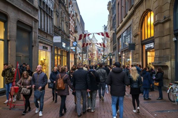 Shopping areas in Amsterdam