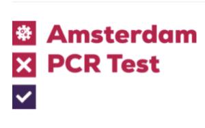 PCR TEST AMSTERDAM